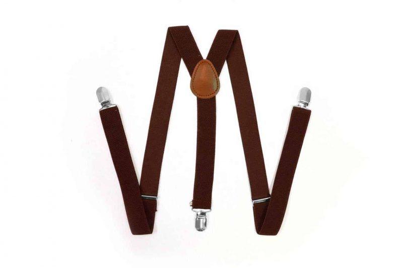 Bretels 'Wall Street Collectie' Y-vorm Bruin