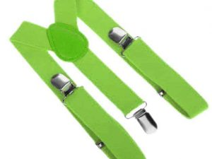 Mr. Pefe Kinder Bretels Licht Groen