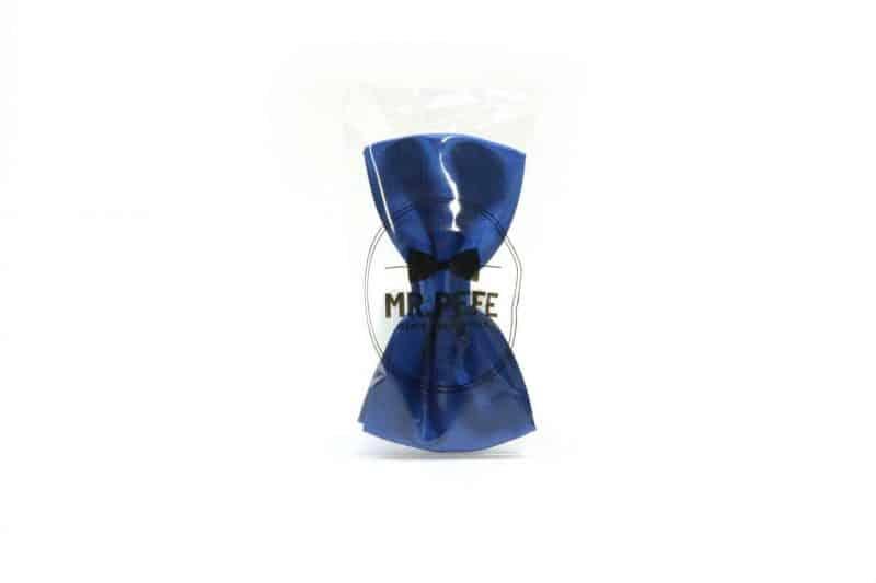 Mr. Pefe Vlinderstrik Blauw Satijn