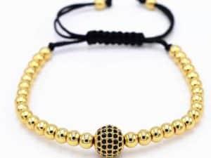 Mr. Pefe Armband Luxury Anil Bracelet Goudkleurig