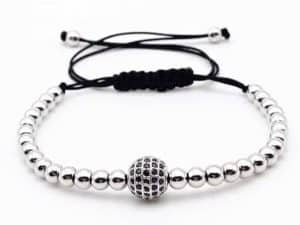 Mr. Pefe Armband Luxury Anil and Silver