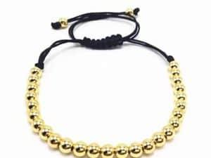 Mr. Pefe Armband Beads Bracelets Gold - Goudkleurige