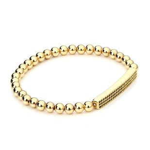 Mr. Pefe Briljant Gold heren armband
