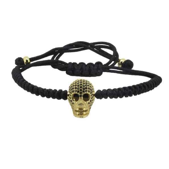 Mr. Pefe Luxury Black on Gold Skull