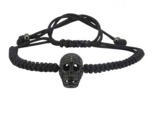 Mr. Pefe Luxury Men Black on Black Skull