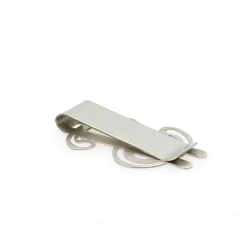 Mr. Pefe Geldclip Dollar Zilver