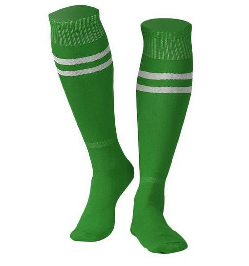 Sport - Groene sportsokken – Kniekausen – Heren sokken – voetbalsokken – hockeysokken