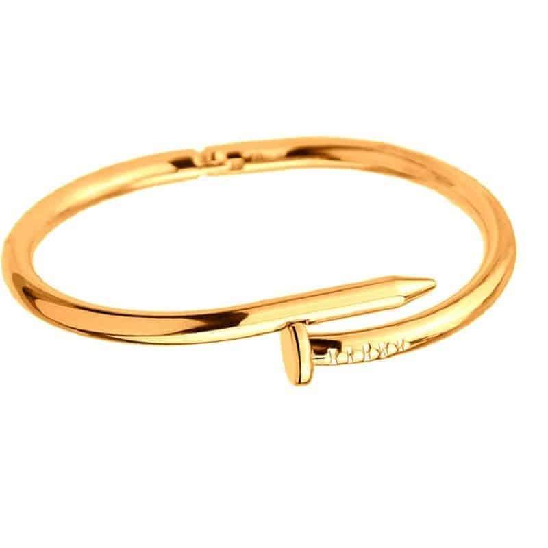Mrs. Pefe Armband Spijker Goud