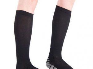 Sports Pefe Hardloopsokken - kuit sokken - run socks - kleur zwart
