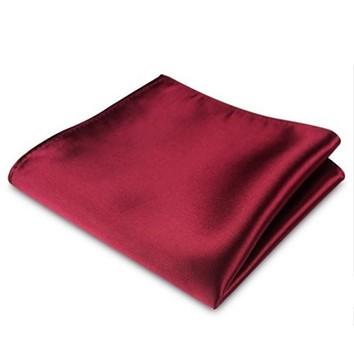 Pochet Luxe Satijn Rood