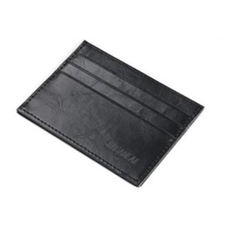 Mr. Pefe Leather Pocket Wallet Black - Portemonnee