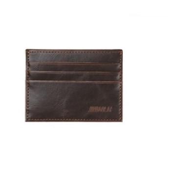 Mr. Pefe Leather Pocket Wallet Brown - Portemonnee