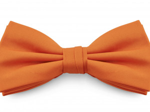 Mr. Pefe Vlinderstrik Satijn Oranje