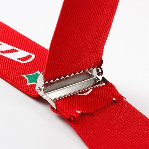 Kerst bretels - Mr. Santa Claus Suspender Nr. 1 - Heren bretels voor kerstmis