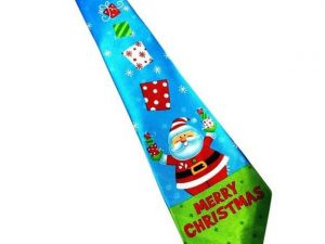 Kerst stropdas – Merry Christmas and a Happy New Tie Nr. 6 – Men Christmas Tie