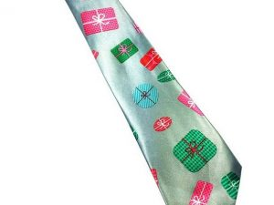 Kerst stropdas – Merry Christmas and a Happy New Tie Nr.20 – Men Christmas Tie