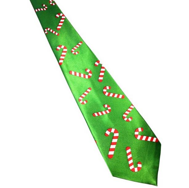 Kerst stropdas – Merry Christmas and a Happy New Tie Nr.18 – Men Christmas Tie