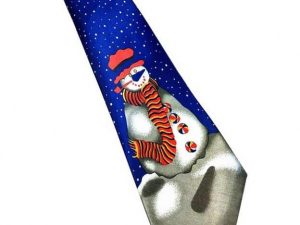 Kerst stropdas – Merry Christmas and a Happy New Tie Nr.17 – Men Christmas Tie