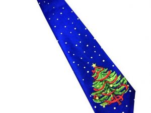 Kerst stropdas - Merry Christmas and a Happy New Tie Nr.1 - Men Christmas Tie