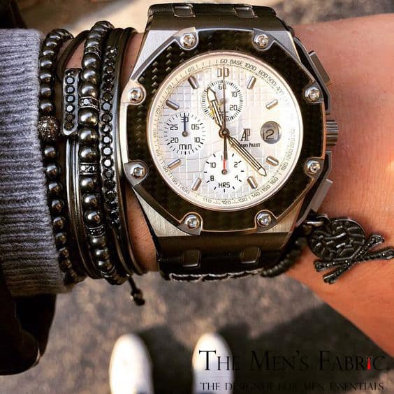 Mr. Pefe Briljant Silver Luxe heren armband
