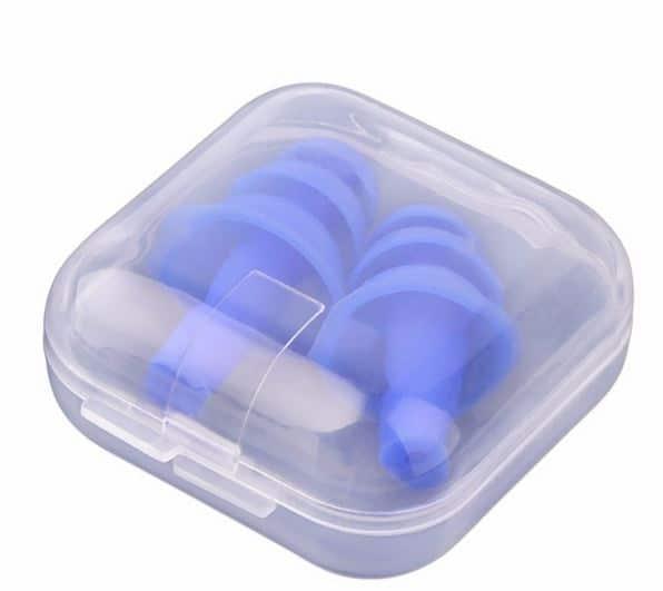 Sports Pefe Swimsafe zwemoordoppen - onderwater oordoppen - Zwem pluggies blauw