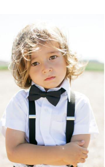 Mr. Pefe Kinder Bretels Zwart