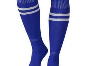 Sport - Blauwe sportsokken – Kniekausen – Heren sokken – voetbalsokken – hockeysokken