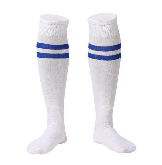 Sport - Witte sportsokken - Kniekausen - Heren sokken - voetbalsokken - hockeysokken
