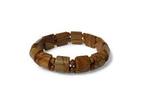 Jaspis geel fantasy armband