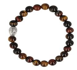 Katten Tijger Valkenoog kralen armband boeddha mannen