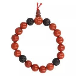 Rode jaspis mannen armband