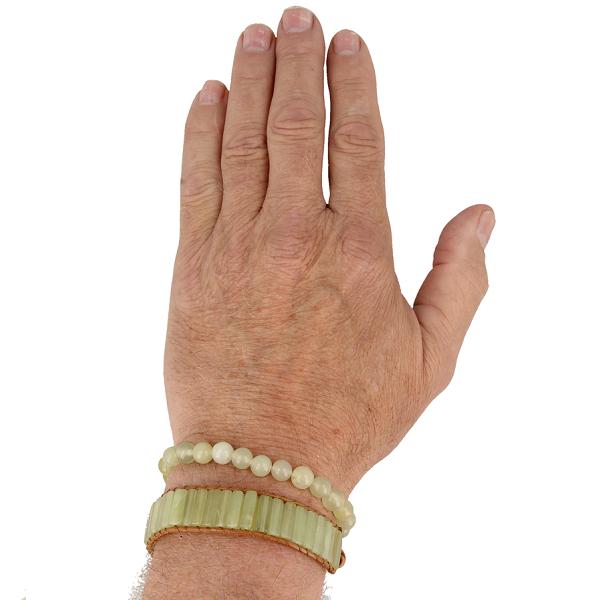 Combinatie armband Jade